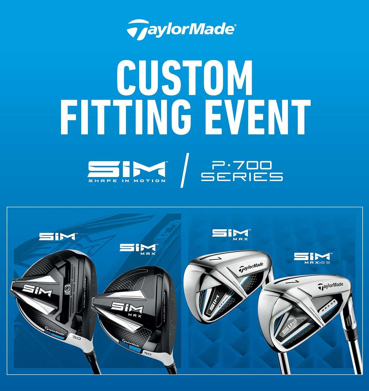Custom Fitting Event w TGC