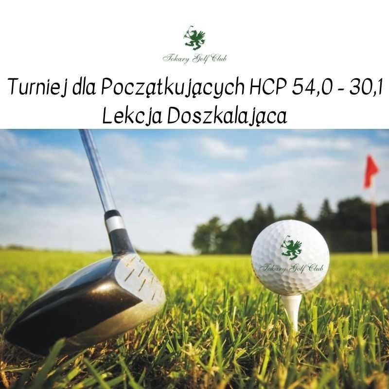 Turniej HCP 54-30,1 - dla Początkujących Graczy