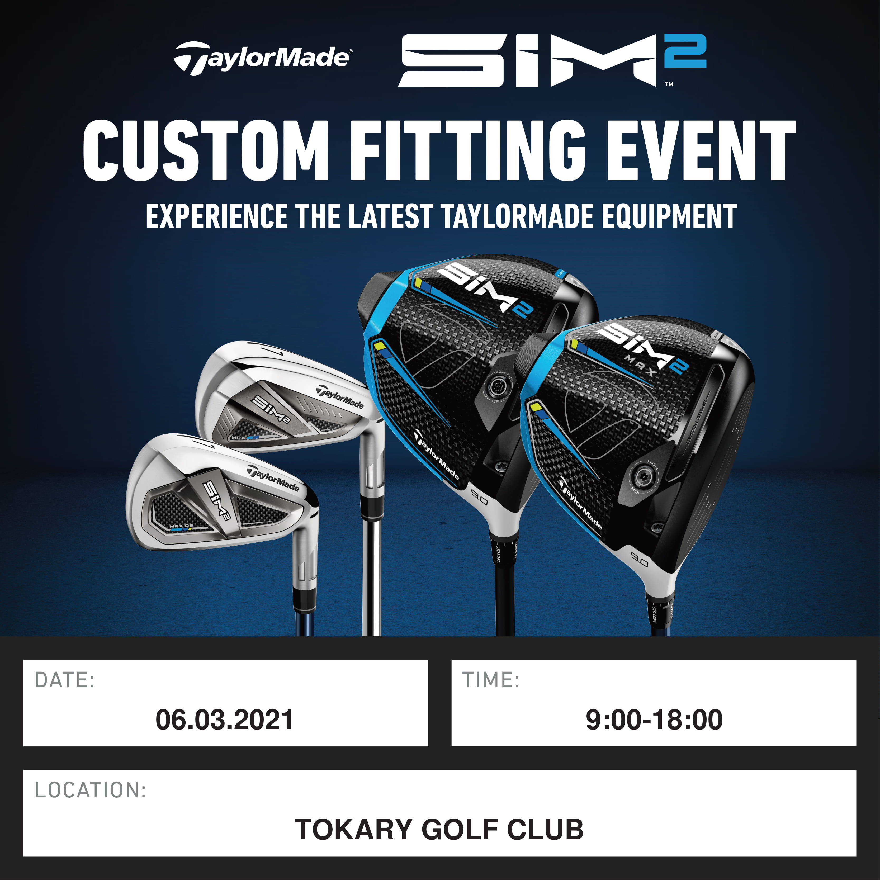 CUSTOM FITTING EVENT