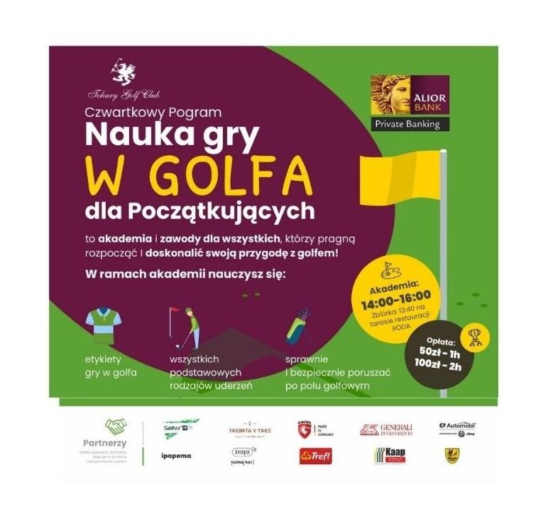 Nauka Gry w Golfa - Czwartek 27.05.2021