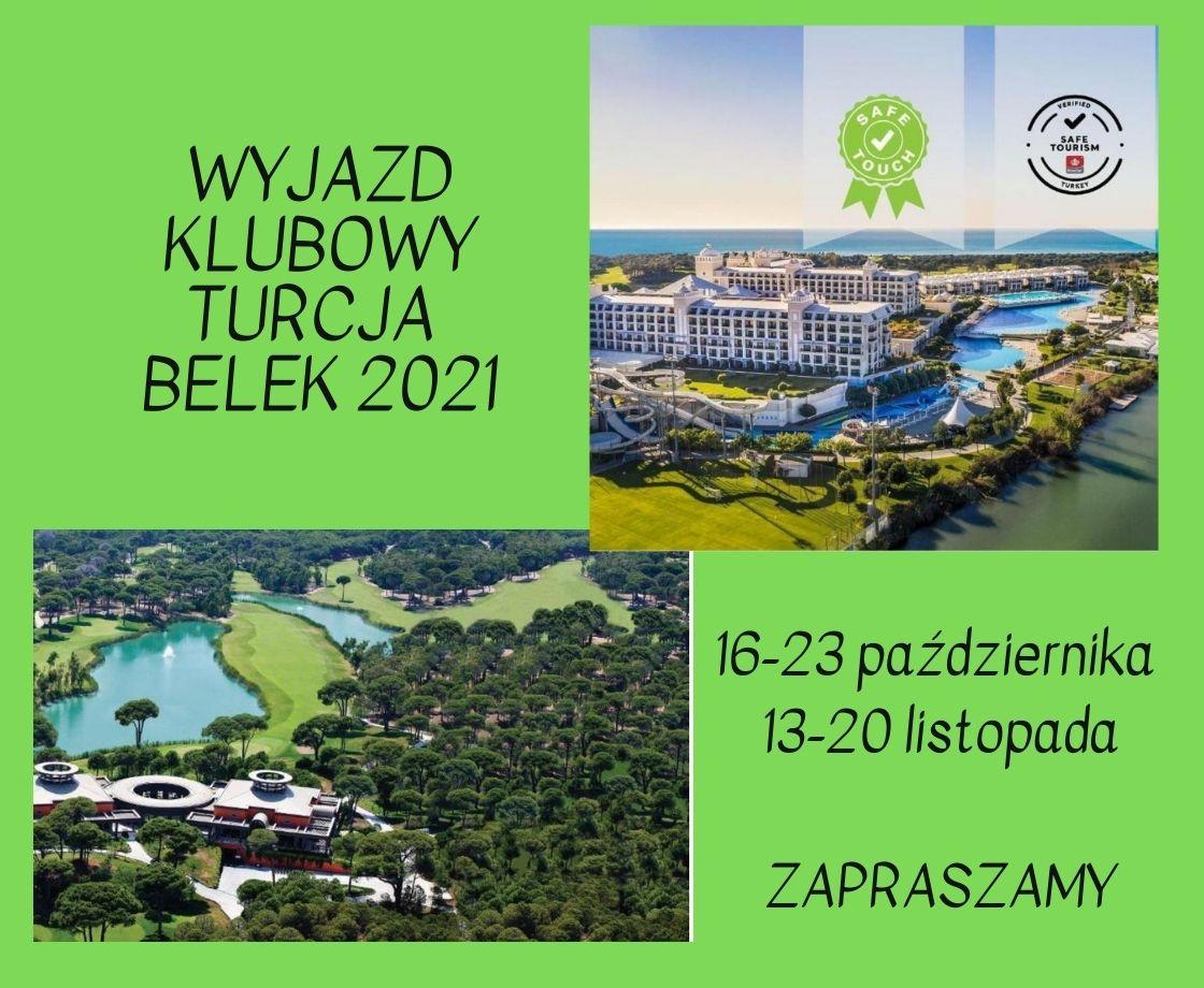 Klubowy Wyjazd do Turcji 2021