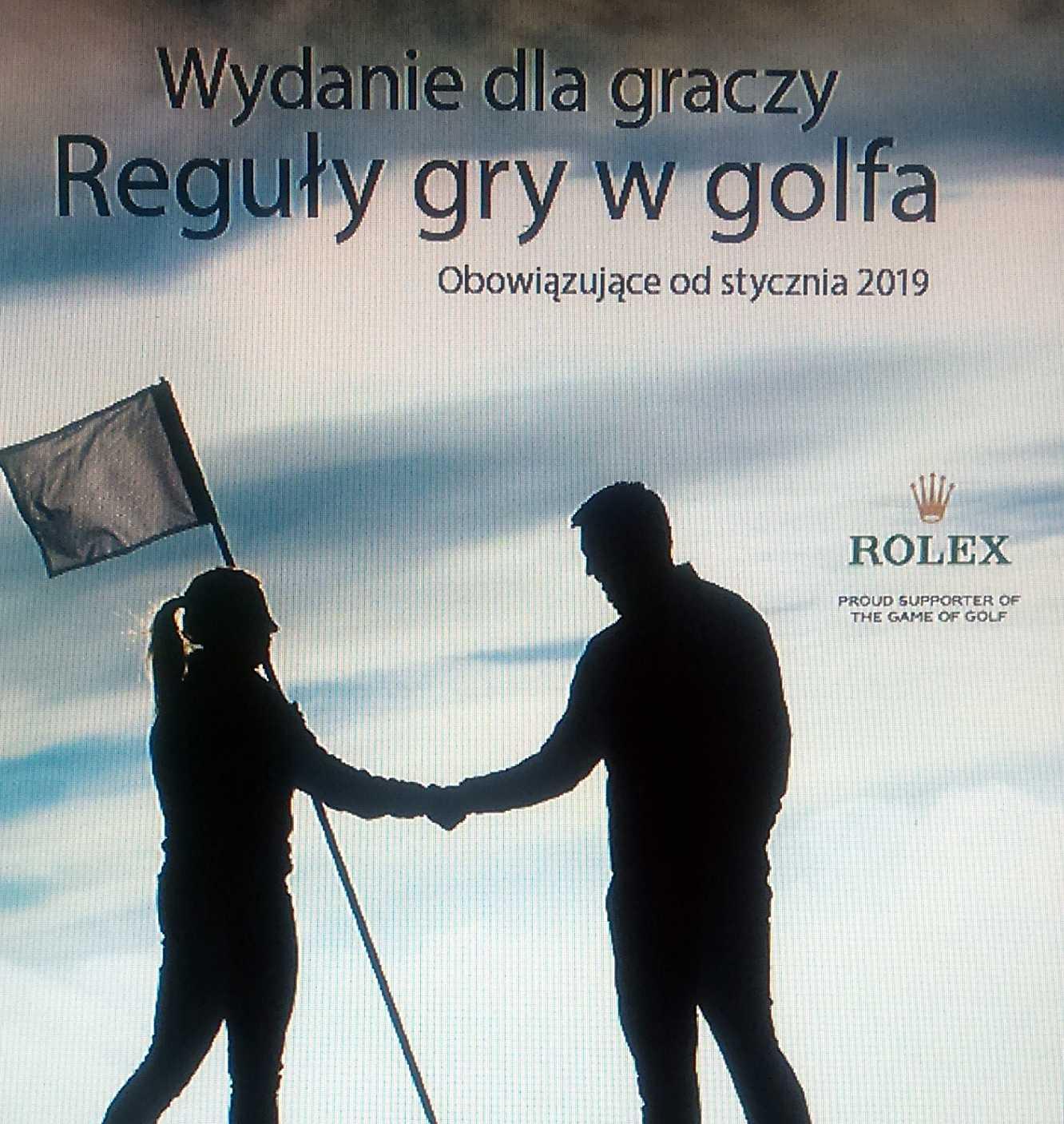 Nowe Reguły gry w golfa.